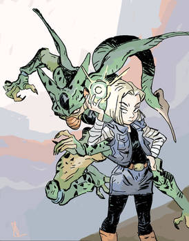 Android 18 and Imperfect Cell