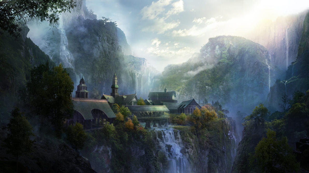 rivendell wallpaper-#29