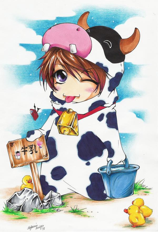 Darian is selling milk by m-u-ll-e