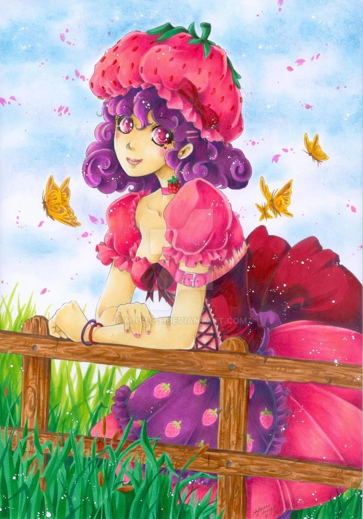 Mary Strawberry by m-u-ll-e