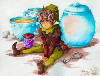 Pips Teezeit by m-u-ll-e