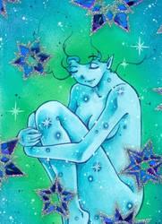 Winter glitter magic - Mulle's Christmas Calendar by m-u-ll-e