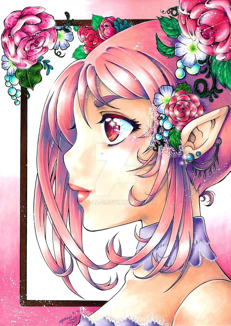 Blumenelfe by m-u-ll-e