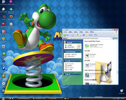 My desktop by Mamamia64