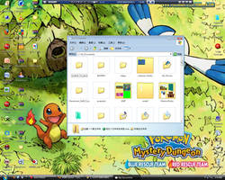 My new desktop by Mamamia64