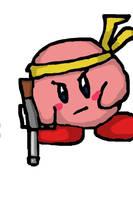 iPhone Gunner Kirby by Mamamia64