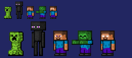 My Minecraft Sprite by Mamamia64