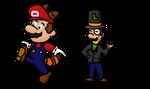 NSMB2 - Mario and Luigi
