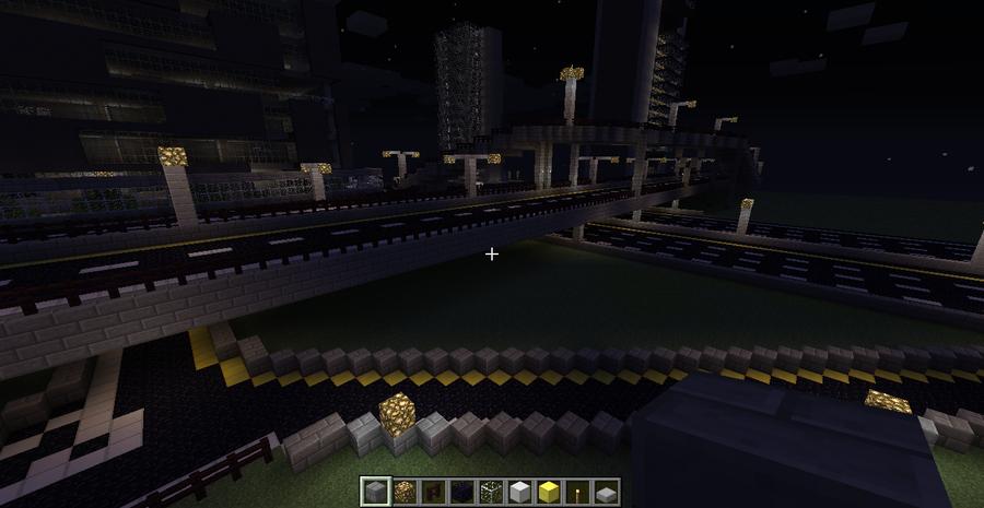 Minecraft - Interstate Interchange by Mamamia64