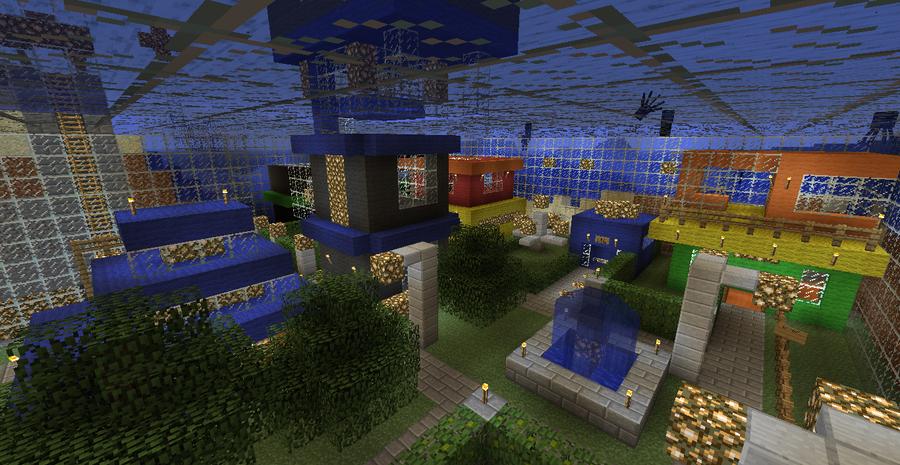 Minecraft Underwater City Interior By Mamamia64 On