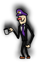 Walender! (Slender Man in Mario series) by Mamamia64