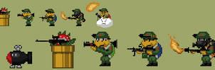 The Koopa Army Sprite by Mamamia64