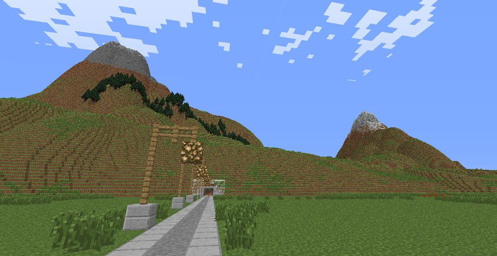 Have you thought about the elevation of Minecrafts terrain