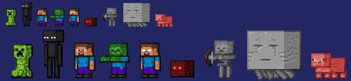 My Minecraft Sprites (Apr 2013) by Mamamia64