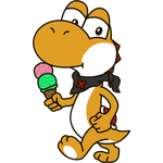 Yoshi OC - Roushi with Ice-cream