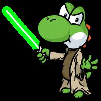 Jedi Master Yoshi by Mamamia64