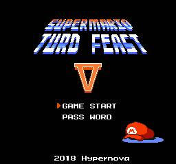 Super Mario Turd Feast 5 Title Mockup