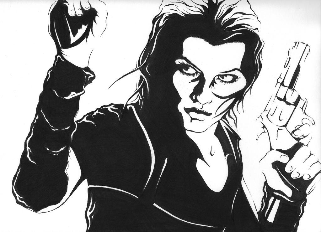 Resident Evil: Alice Abernathy by CHOP47