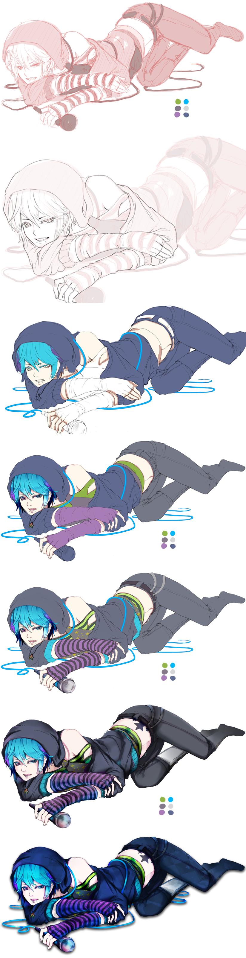 Art process 2 by tori-ru