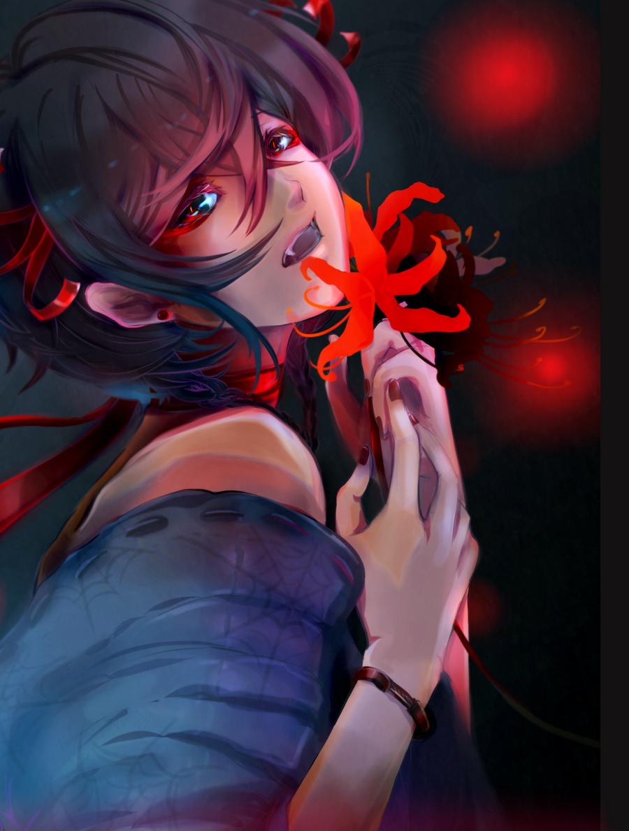 Spider Lilies by tori-ru