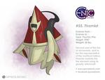 #55. Firamist (fakemon) by SpyrosBionic