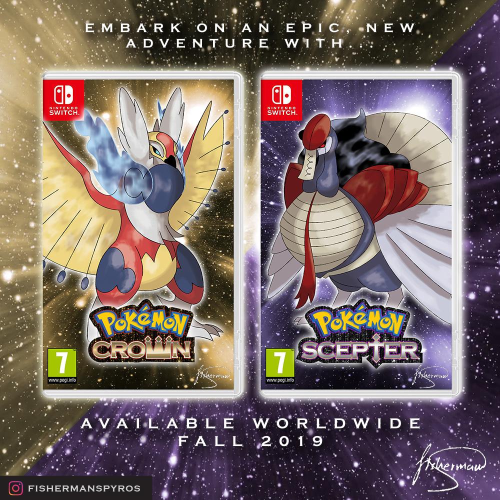 Pokemon Crown and Scepter Box Art
