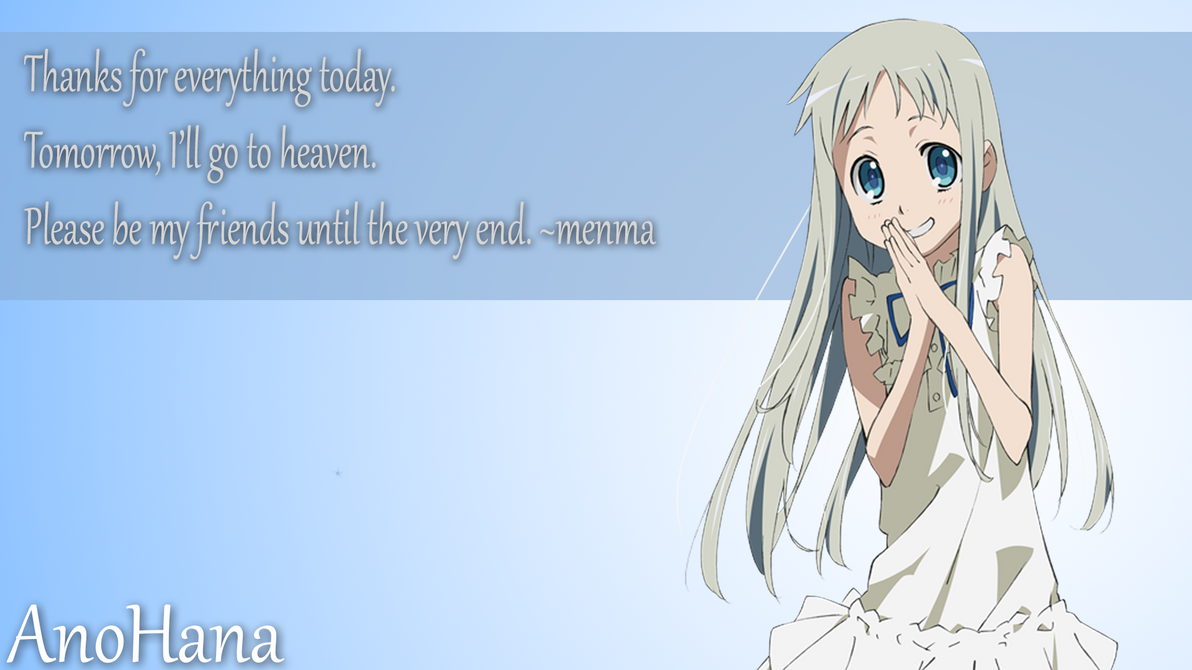 Download Anime Subtitle Indonesia Dengan Format Mp4 Home Drama Romance Supranatural Anohana Episode 1