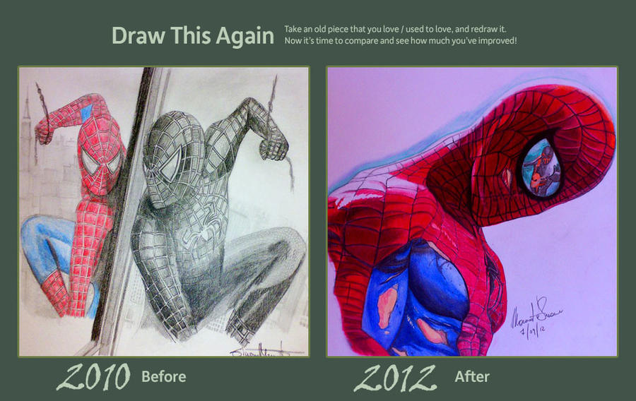 Draw This Again: Spiderman by Simone93