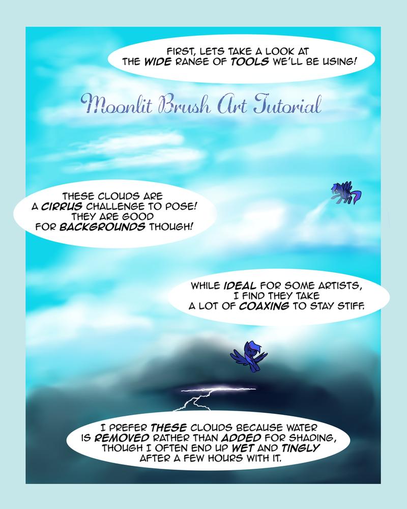 Moonlit Brush Tutorial! page 1 by MoonlitBrush