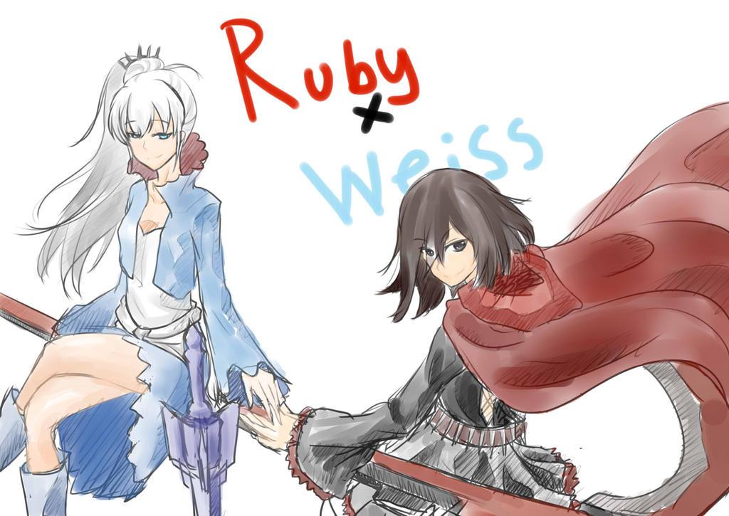 weiss Rwby ruby x