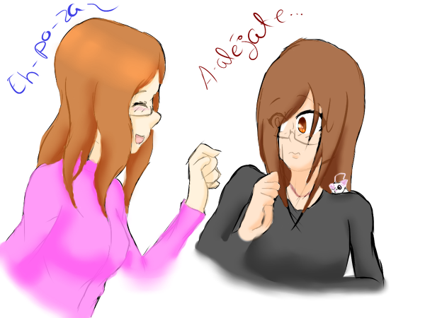 Mi ehpoza y yo :3 by Pokemitanita