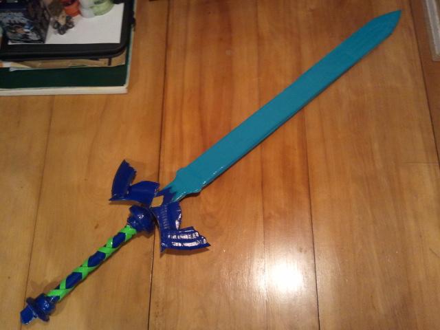 Skyward Sword Master Sword by FangirlOfArtsyness