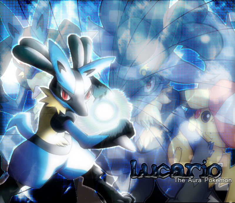 Lucario Wallpaper By EditorKid