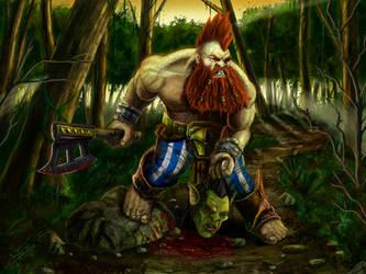 Warhammer Dwarf Warrior
