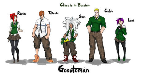 New Gosutoman crew by SinclairPro