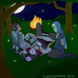 Calm Campfire