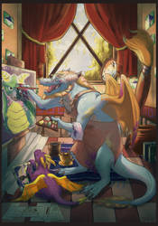 Thanks Spyro Zine- Gildas by Jekal