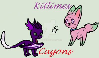 Kitlimes And Cagons by naishine