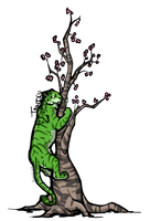 Taniku - BLESSED GREEN ONE by Aquiose