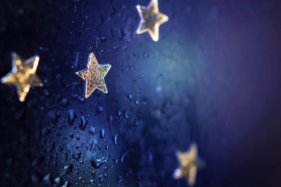 Rainy Stars by Silvermoonswan