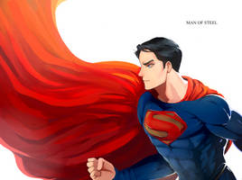 Man of Steel by dailyguydoodle