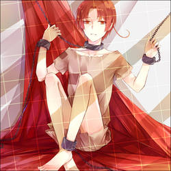 APH---Feliciano Slave wearing by zxs1103