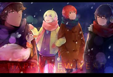 Tsuritama--- Happy New Year