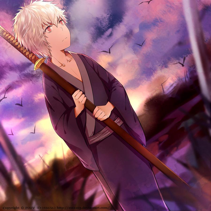 Gintama --- Gintoki 01 by zxs1103