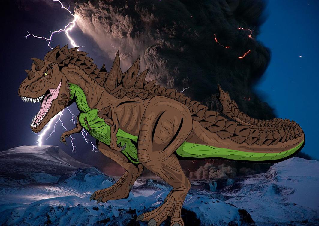 Kaiju Files: Tyron by raptorrex07