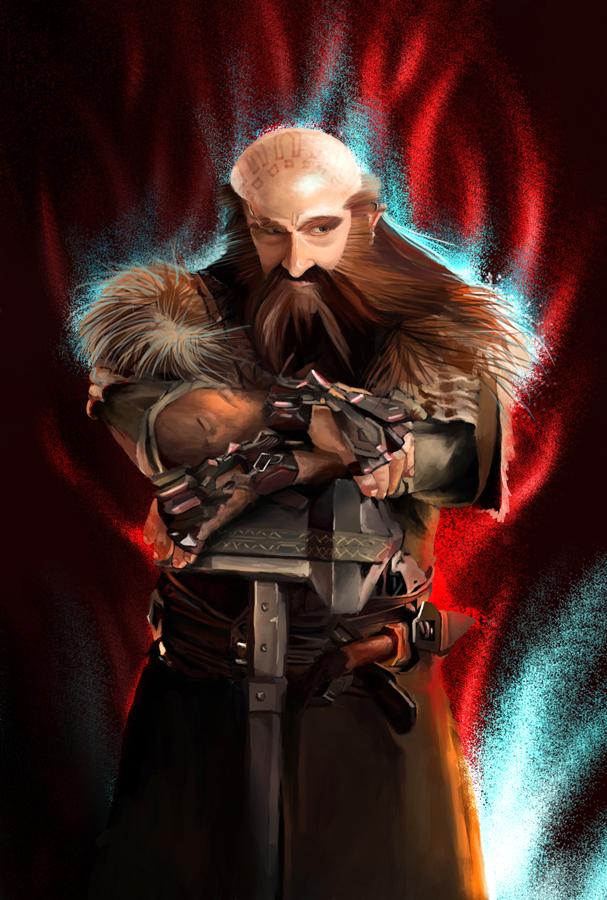 DWALIN! The Hobbit by unda-RM