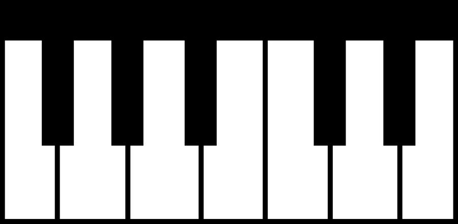 piano keyboard cutie mark0nautile18e26 on deviantart