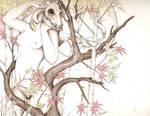 The Deer Woman by Lizzibit
