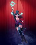 Zatanna, the mistress of magic