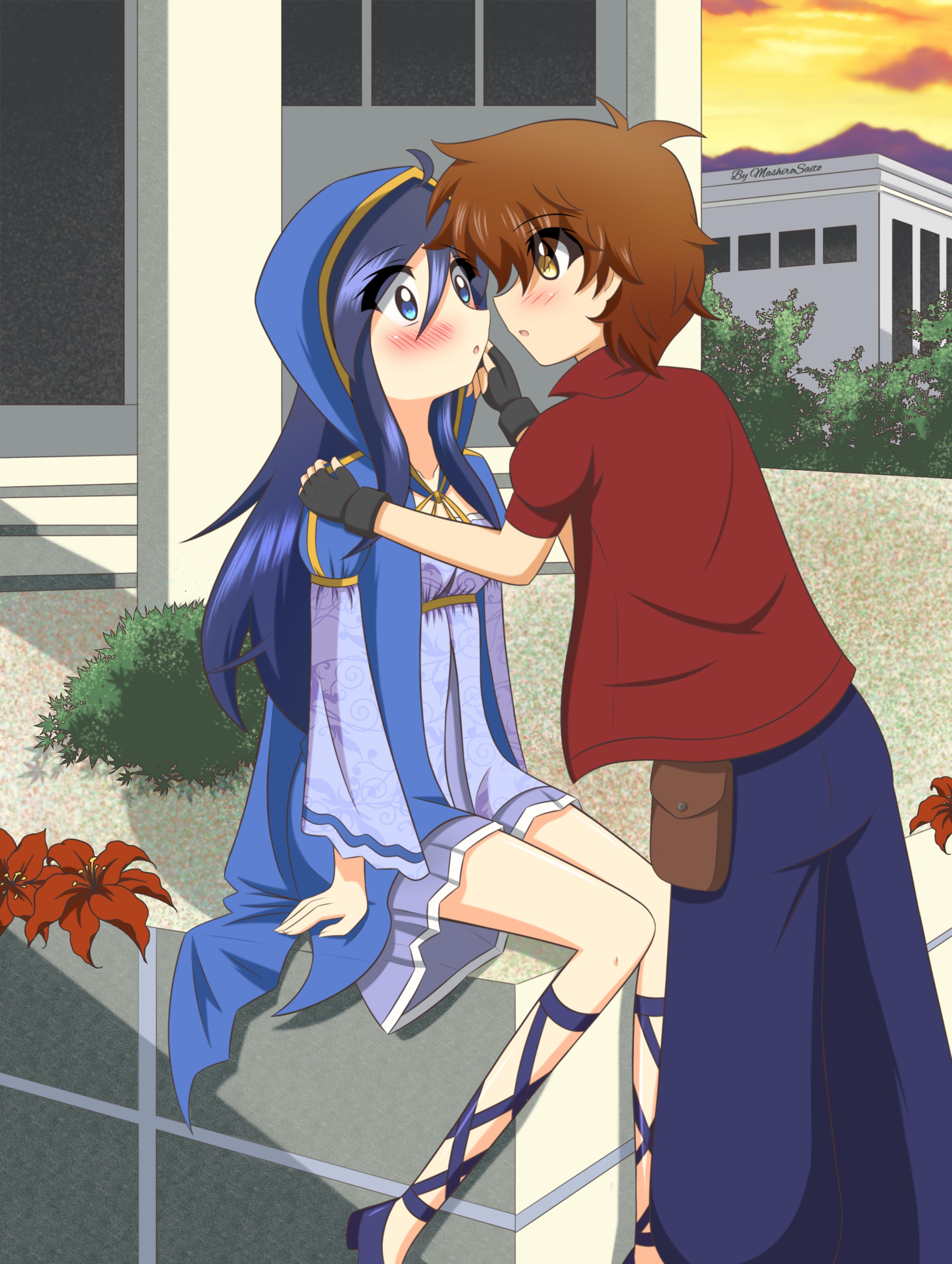 Sylwia and Shane (Contest) by MashiroSaito
